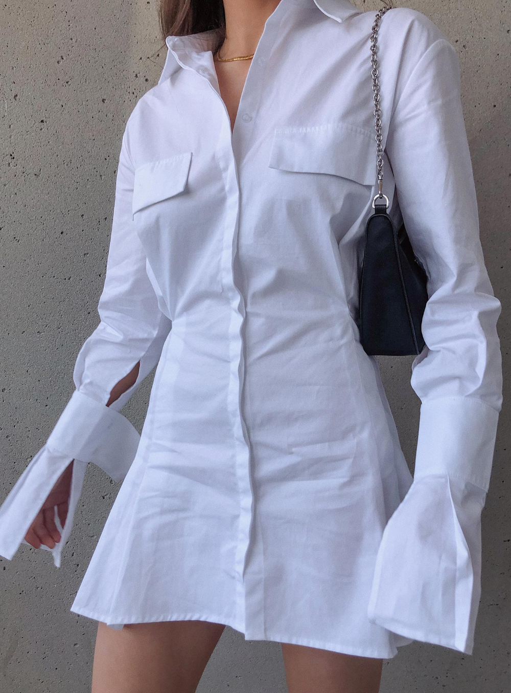 Cover Girl Mini Dress - US 0 / White