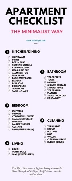 Living Room Decor Checklist