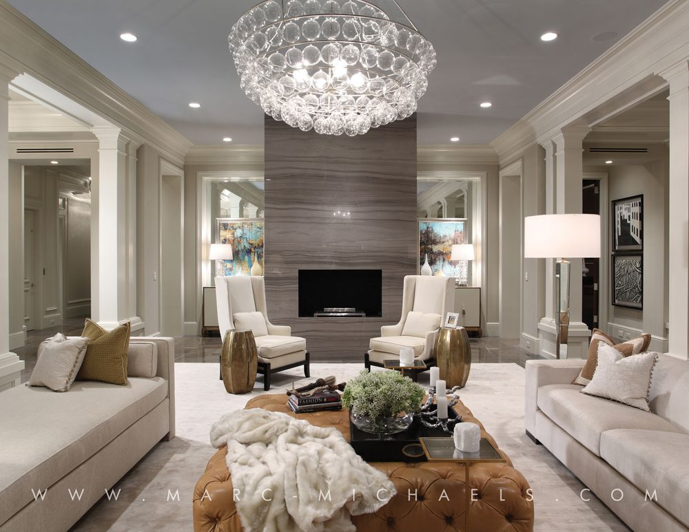 Marcthee Interior Design Glamorous Living Room Neutral Living Room Design Transitional Decor Living Room #transitional #decor #living #room