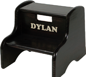Solid Wood Kid's Step Stool - Little Colorado