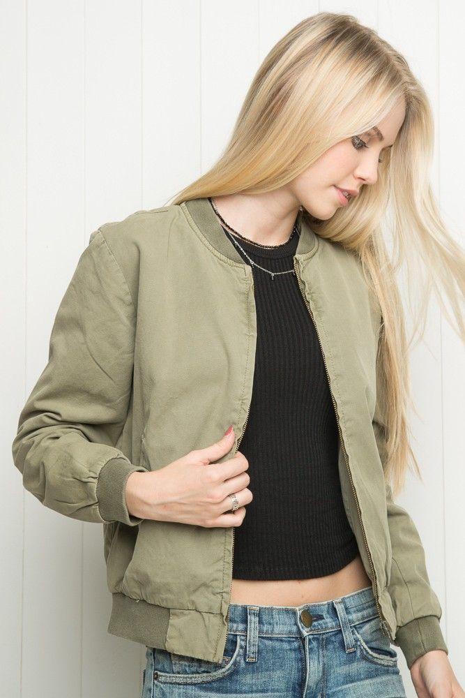 Brandy ♥ Melville | Kasey Bomber Jacket Just In | Fashion
