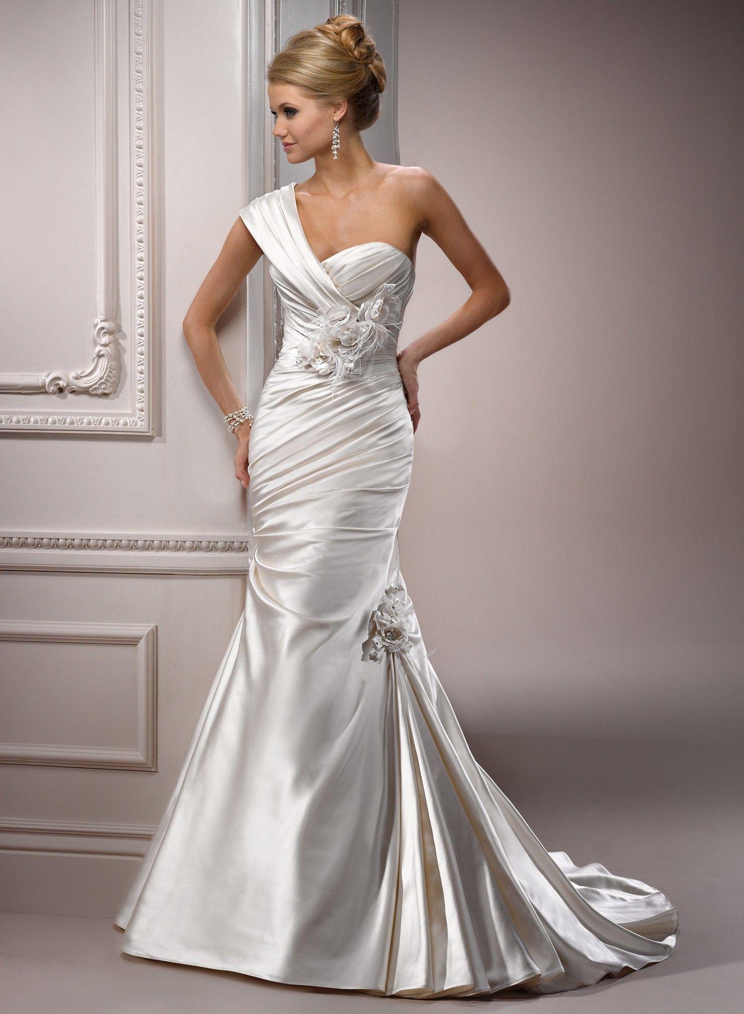 18+ Satin mermaid bridal dress info