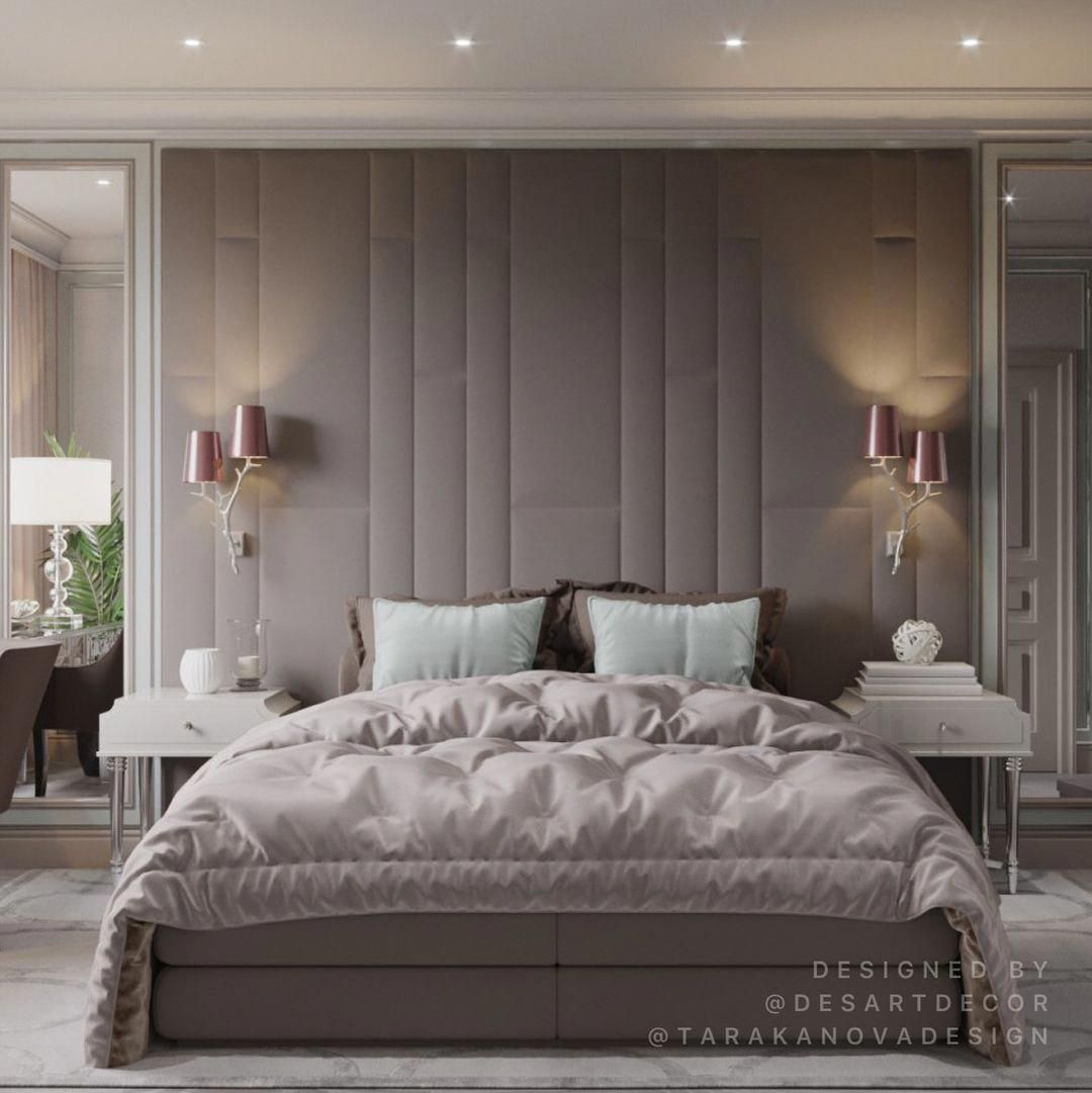 Add This Luxury Bedroom Lighting Selection To Your Own Inspirations For Your Next Interior Des Luxurious Bedrooms Master Bedroom Interior Design Bedroom Design
