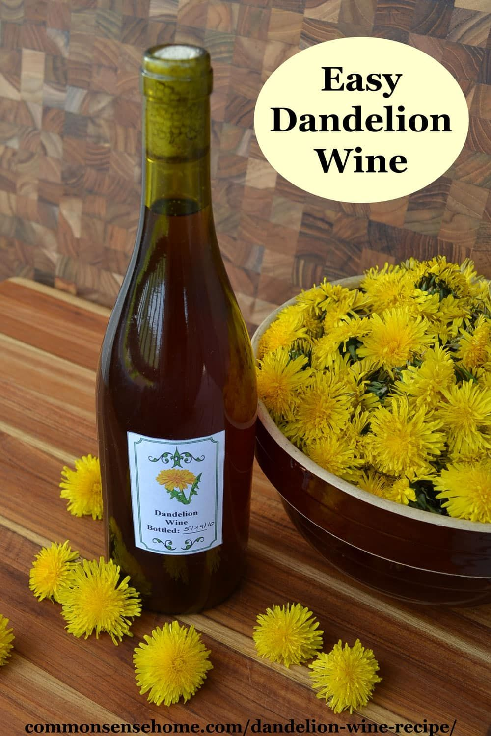 Dandelion Wine Recipe The Mistake You Don T Want To Make Recipe In 2020 Dandelion Wine Wine Recipes Dandelion Recipes