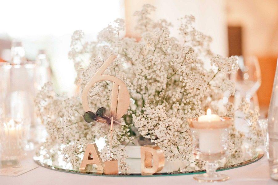 Winterhochzeit blumen  Blumen für eine Hochzeit im Stil der 20er Jahre | Tisch ...