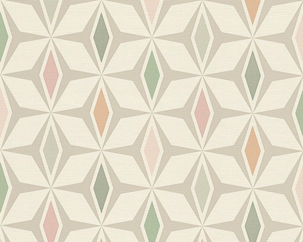 Tapete / Vliestapete Around The World. Rolle: 0,53x10,05 M ... Wohnzimmer Farben Modern Grun