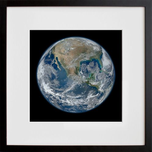 60 For An 11x22 On 20x200 Global Gallery Graphic Art Blue Marble
