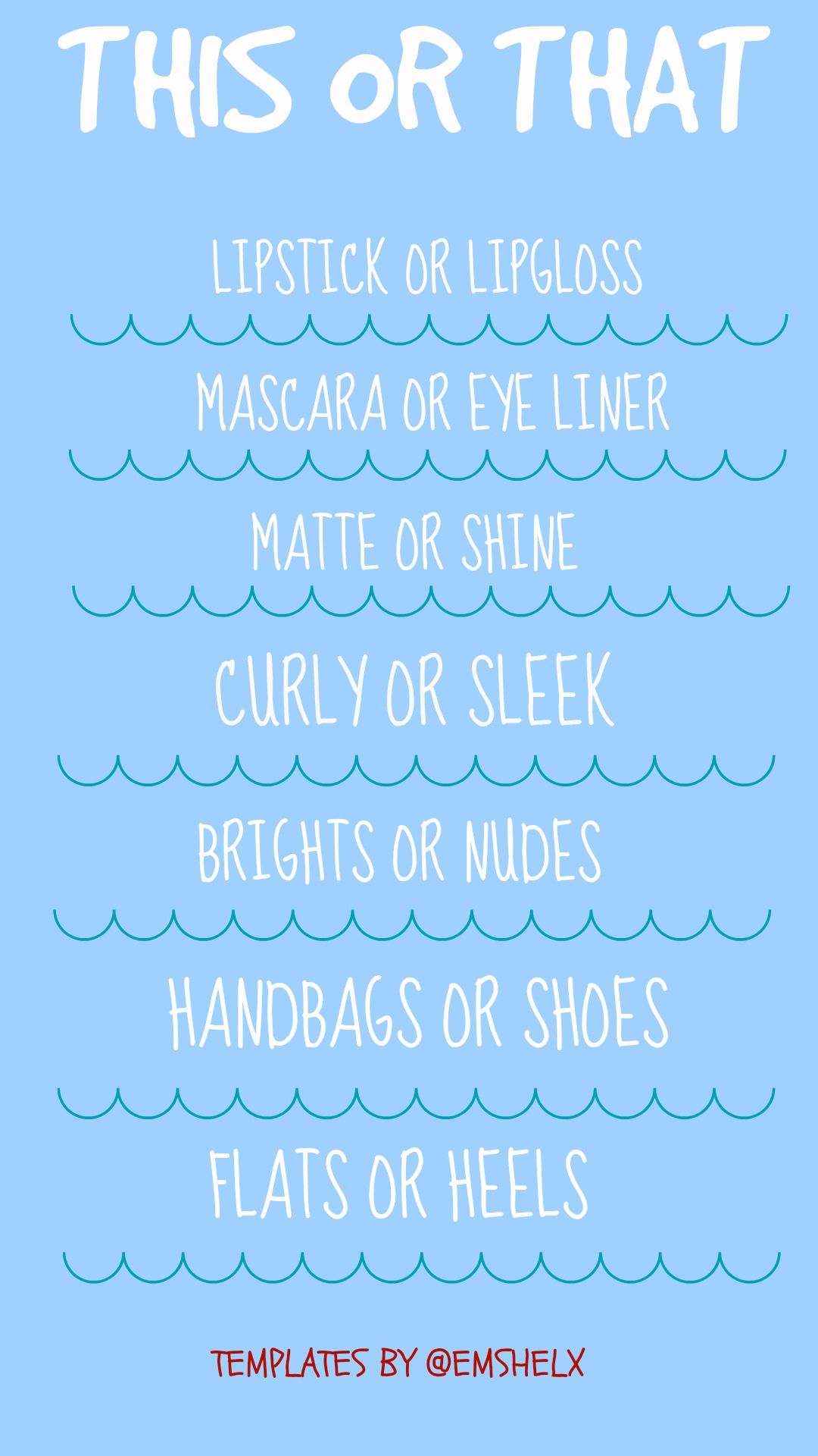 This Or That Beauty Quiz For Insta Stories Template Instagram Story Templates If you don't think this quiz can guess your height, then i dare you to take it. this or that beauty quiz for insta