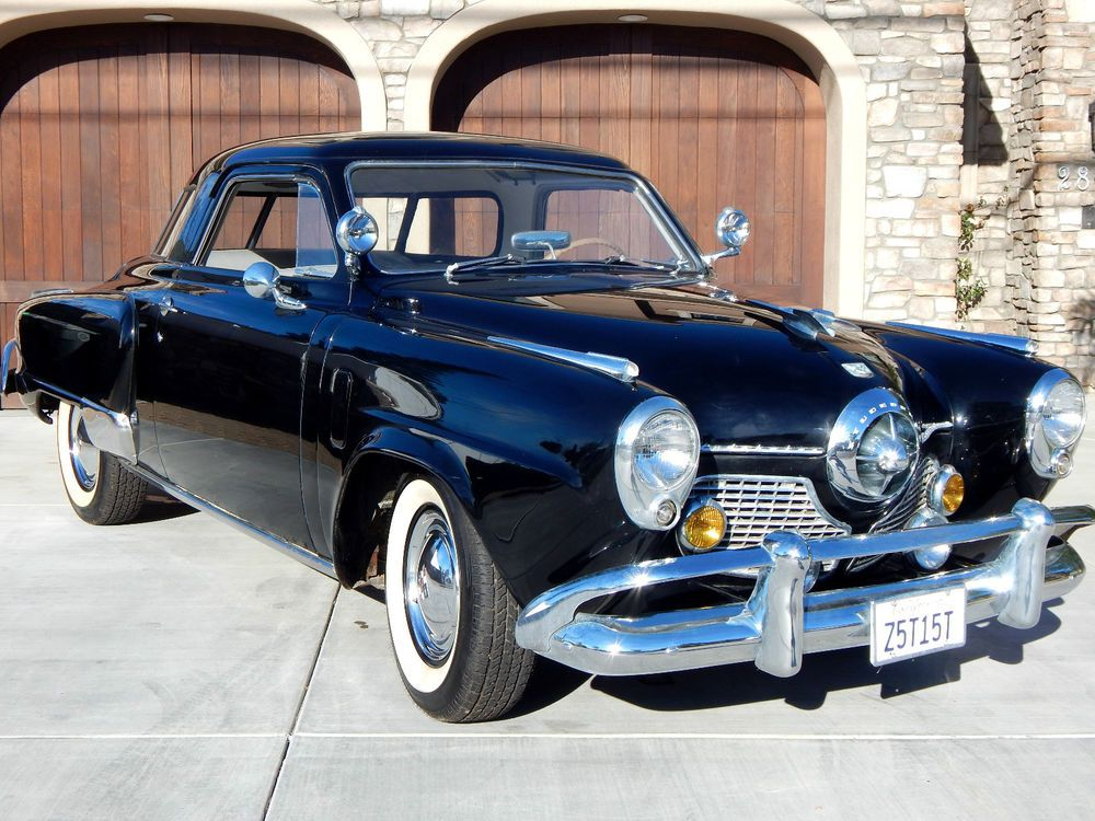 1951 Studebaker Commander Regal Starlight V8 Bullet Nose Coupe ...