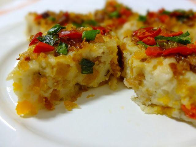 IMAGES SWEET PUMPKIN DESSERTS | Copycake Kitchen: Steamed Savoury Pumpkin Cake (蒸南瓜糕)