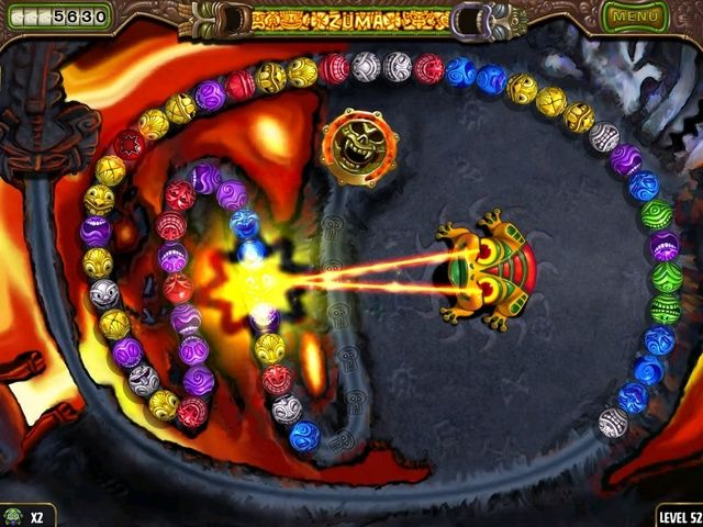 Zuma's Revenge! Screenshot | The Beauty of Video Games