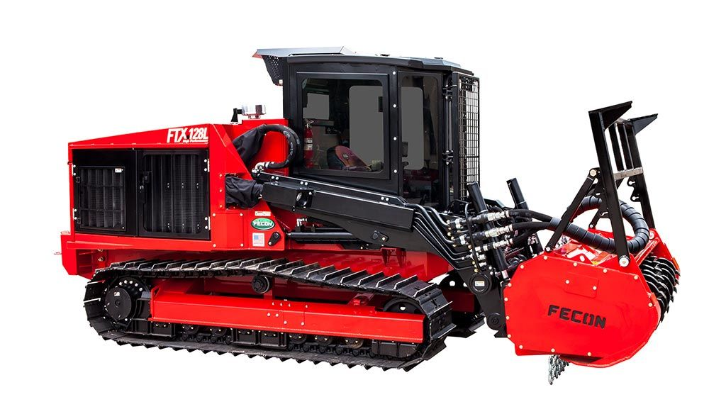 ftx128r mulching tractor (with images) | forestry equipment, tractors,  forestry  pinterest.ch