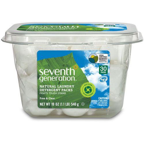 Seventh Generation He Laundry Detergent Packs Natural Laundry Detergent Laundry Detergent Natural Laundry