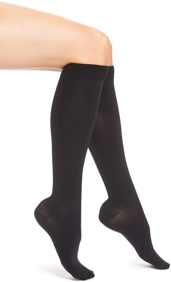 a694daaf2 Women's Item M6 Opaque Compression Knee High Socks, Size M-L2 ...