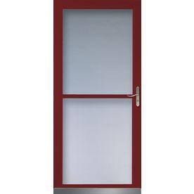 Lowe S Home Improvement Glass Storm Doors Lowes Home Improvements Storm Door The sunburst security door features a durable steel perforated screen panel. pinterest
