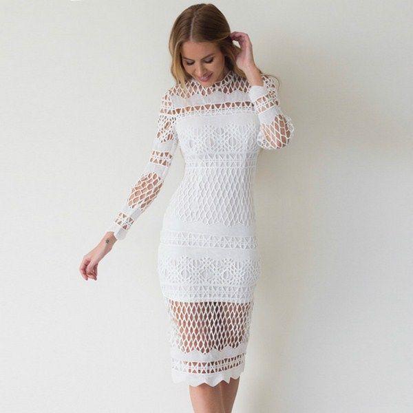 hermoso vestido blanco 2017-2018 a09ff2f04128