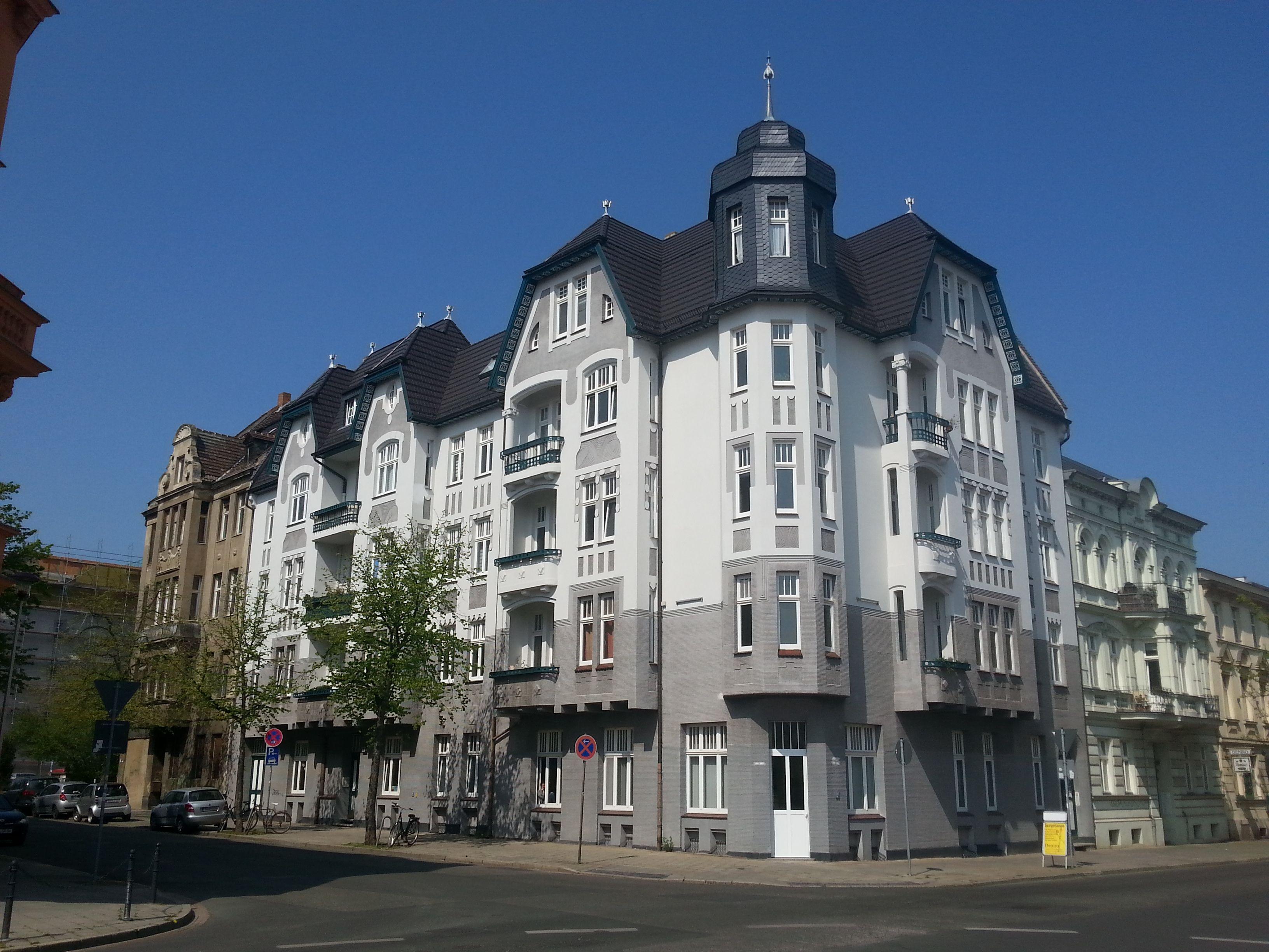 Cottbus, Schillerstraße/AugustBebelStr. Wohnhaus