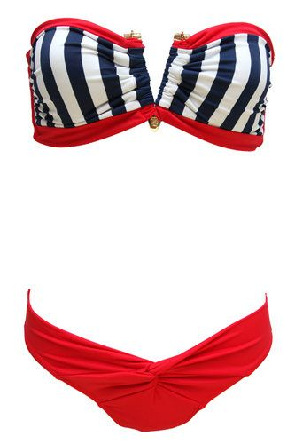 Ahhh!!!  Nautical!!!  This is my motivation for staycation 2013...  My body NEEDS to look good so I can rock this!  TDM anyone?  LOL