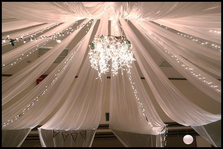 center of the gym beecher wedding Pinterest White christmas