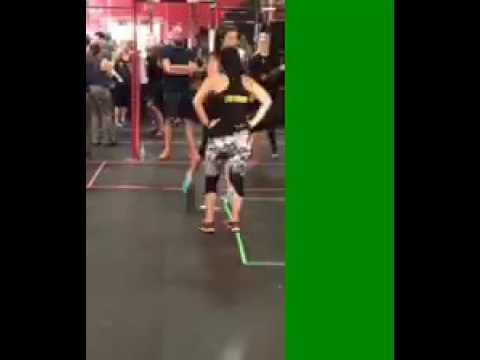 Burpee Jumping Wod CrossFit Straight Cheetah Scaled Team looking strong on the burpee wod #crossfit #fitness #WOD #workout #fitfam #gym #fit #health #training #CrossFitGames #bodybuilding