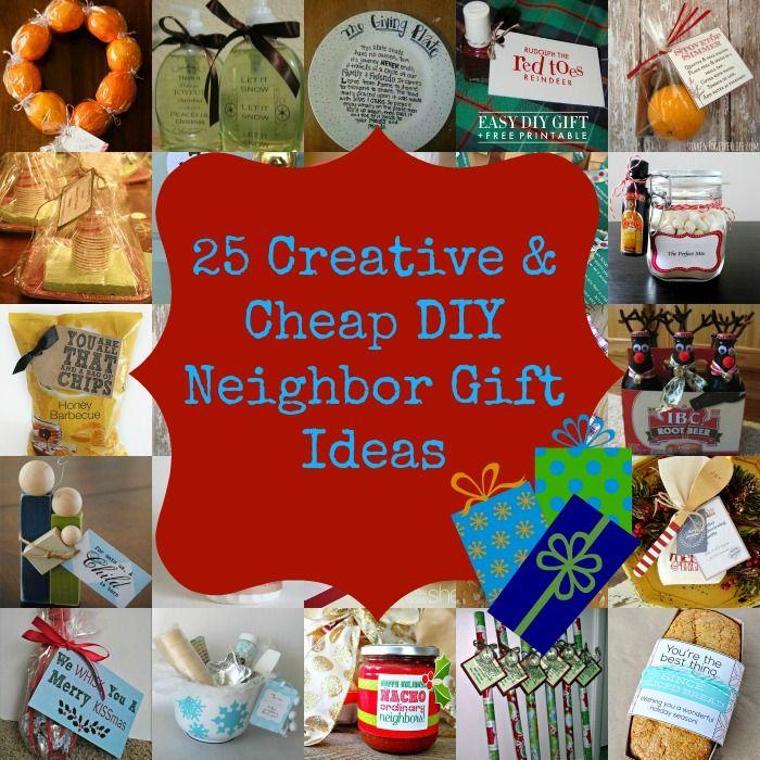 25 Creative & Cheap DIY Neighbor Christmas Gift Ideas