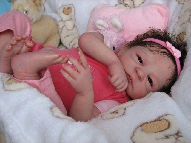 Ariel Life like baby doll created by Ewa