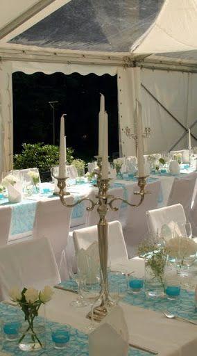 türkis, weisse blumen | Ariana\'s | Pinterest | Wedding and Wedding
