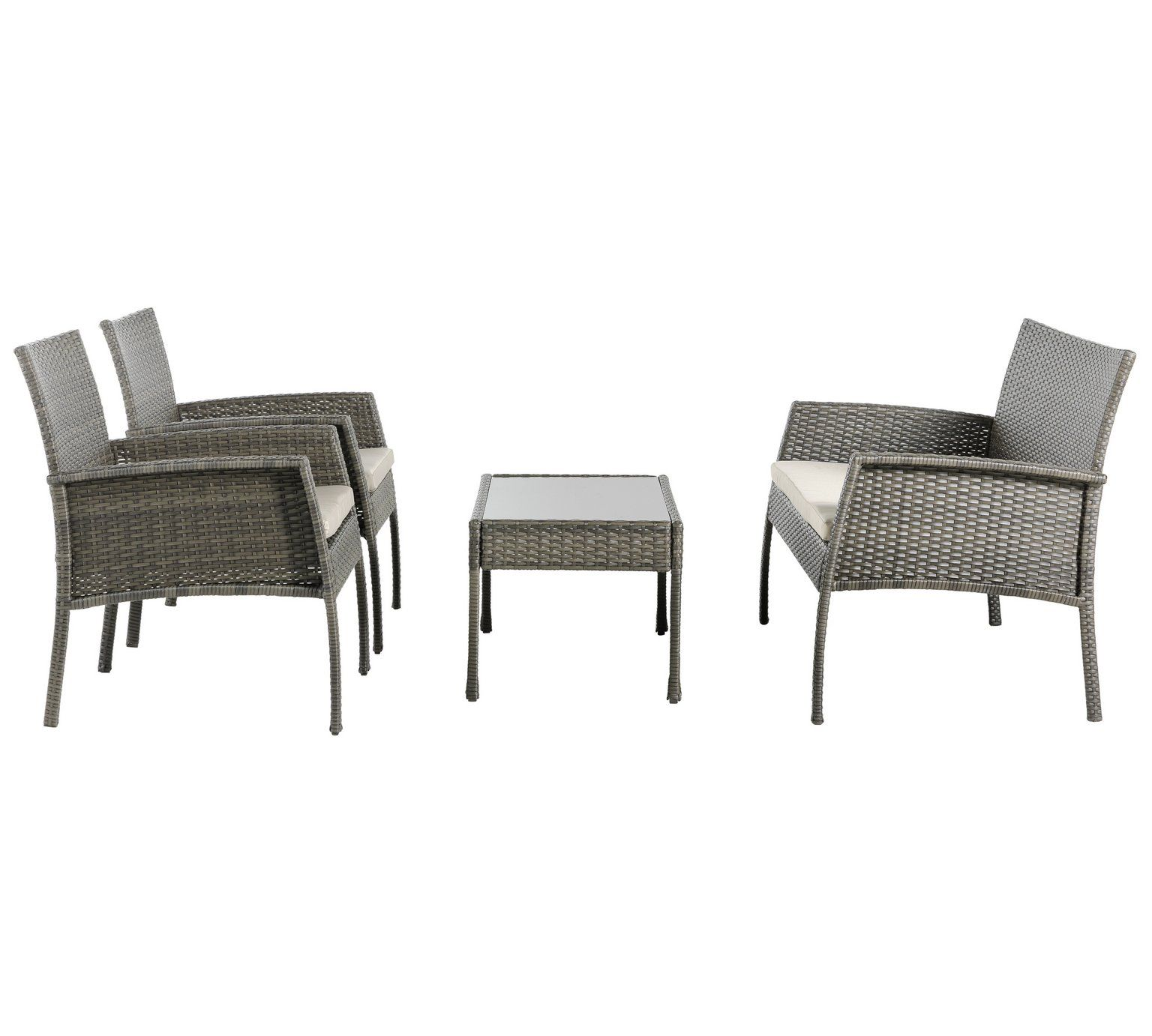 Buy Home Lucia 4 Seater Garden Sofa At Argos Co Uk Visit Argos Co Uk To Shop Online For Garden Table A Outdoor Furniture Sets Sofa Set Garden Table And Chairs