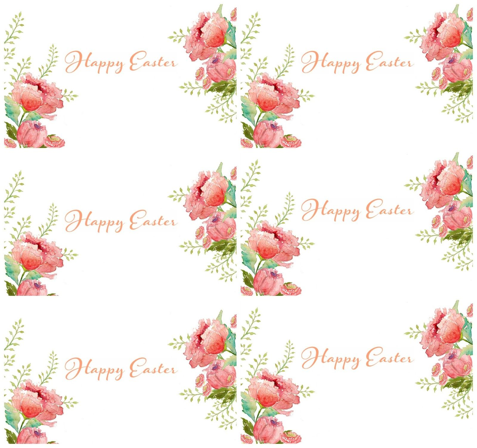 Free printable happy easter gift tags craftberry bush red letter free printable happy easter gift tags craftberry bush negle Gallery