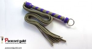How To Make A Paracord Flogger Paracord Guild Paracord Diy Paracord Tutorial Flogger