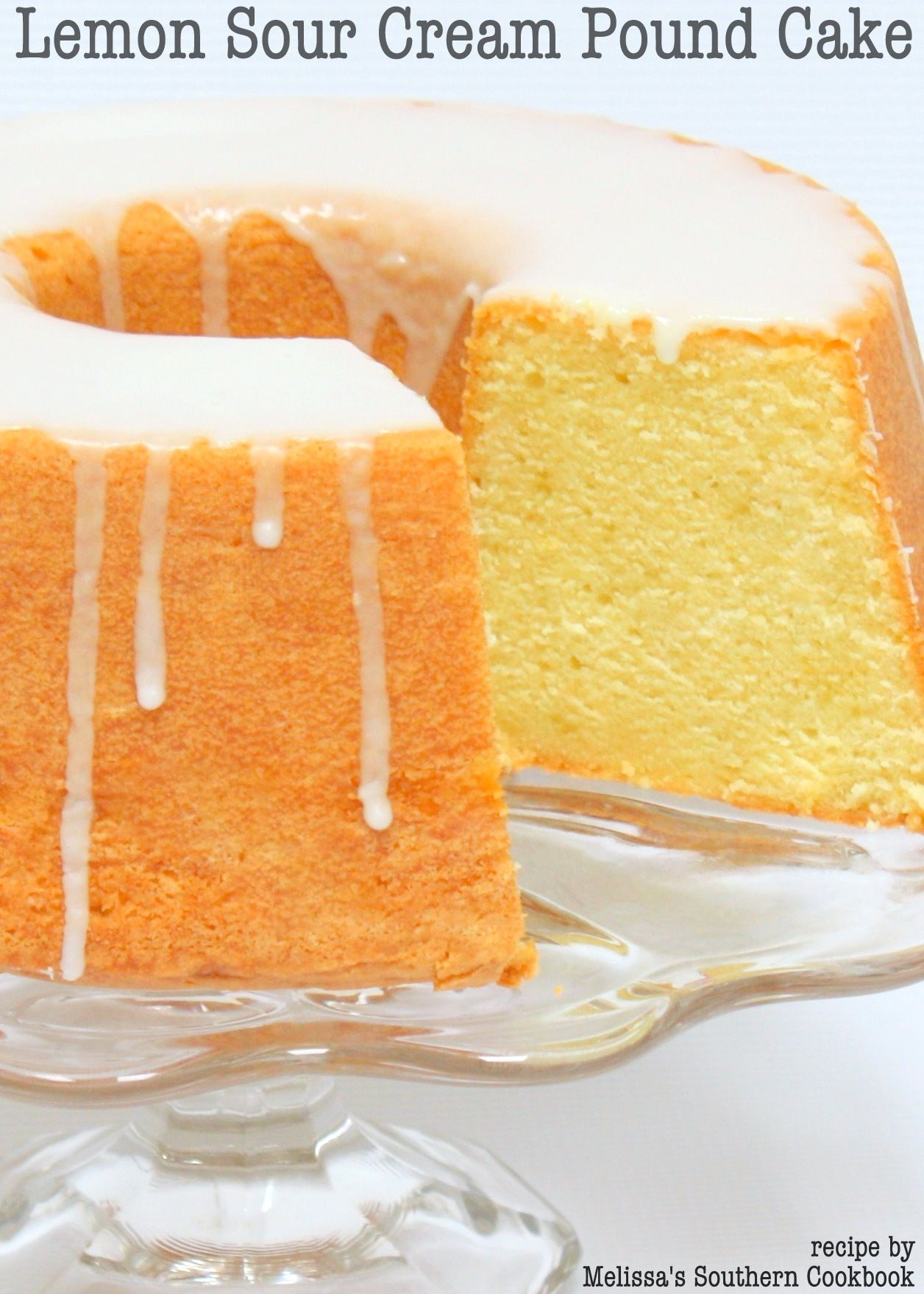 Lemon Sour Cream Pound Cake Recipe Cookbook Giveaway Now Closed Recipe Sour Cream Pound Cake Sour Cream Cake Pound Cake Recipes