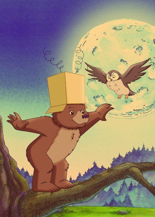 O Pequeno Urso Nome Original Em Ingles Little Bear Ou Little Bear S Adventures E Um Desenho Animado E Little Bear Cartoon My Childhood Memories Little Bears