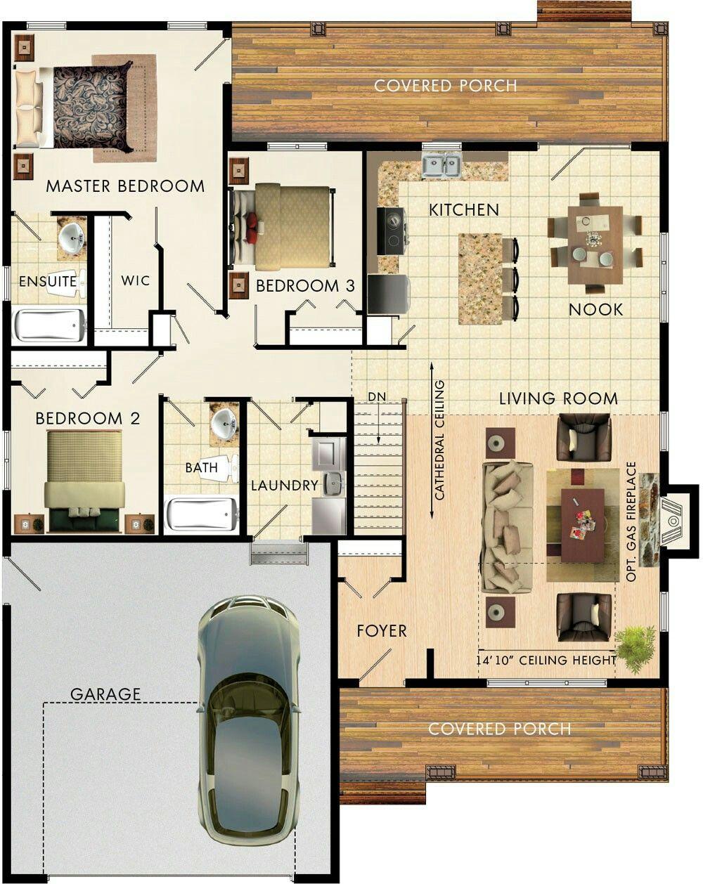 mapleton house plan by beaver dream home pinterest house