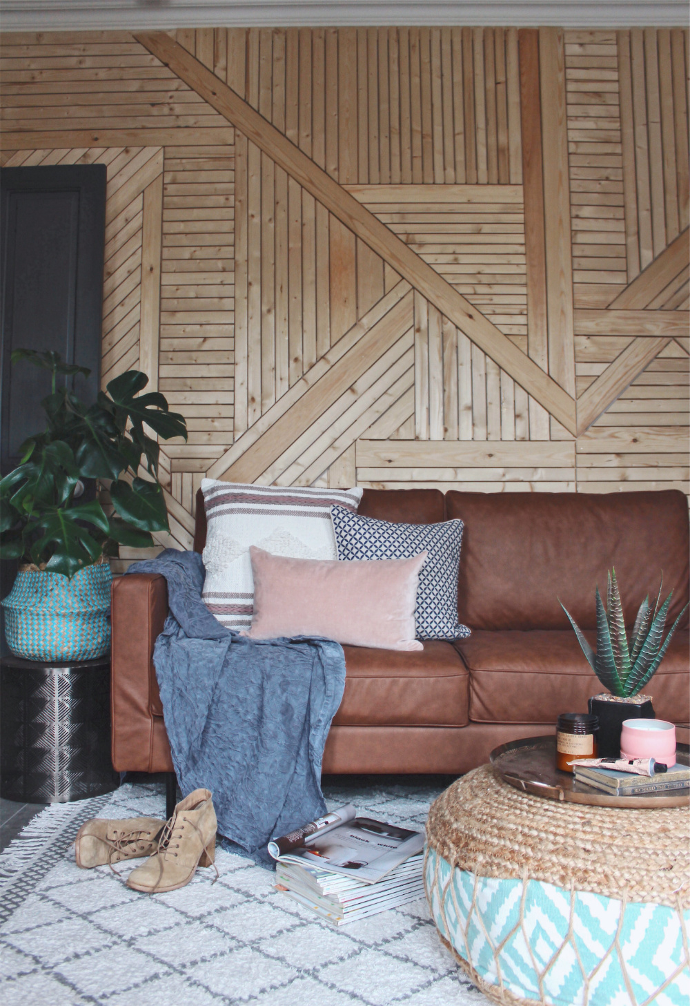 Wood Paneled Den: Revamp Restyle Reveal: The Moment Of Truth
