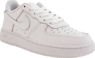 Nike White Air Force 1 Unisex Junior The Nike Air Force 1 first saw the  light