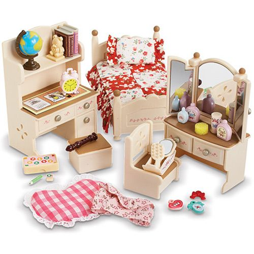 Excellent Calico Critters Bedroom Set Decoration