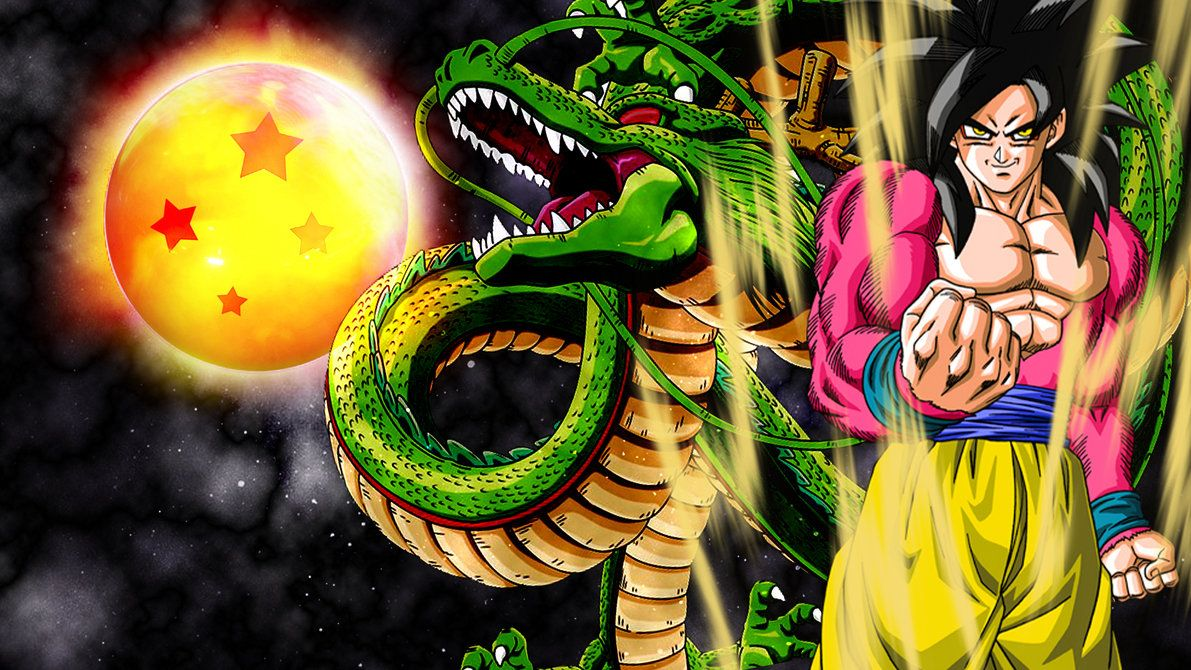 Goku Ssj 4 Wallpapers Hd Dragon Ball Four Star Wallpapers Db