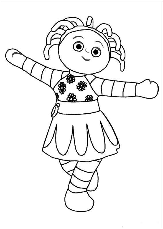 Disegni da colorare per bambini. Colorare e stampa La Foresta dei Sogni 15