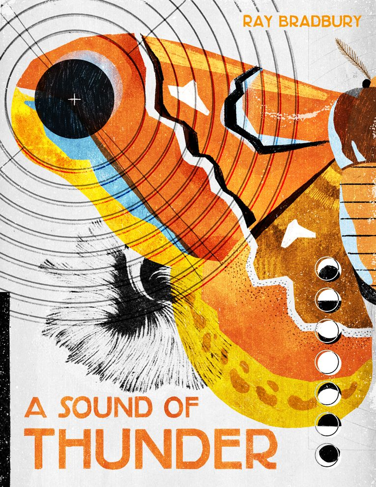 A Sound Of Thunder On Behance Sound Of Thunder Collage