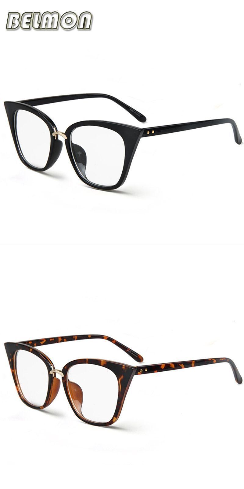 344144bff3d Eyeglasses frame women computer optical vintage eye glasses for women s  spectacle transparent clear lens armacao de rs266  frames  eyewear   accessories ...