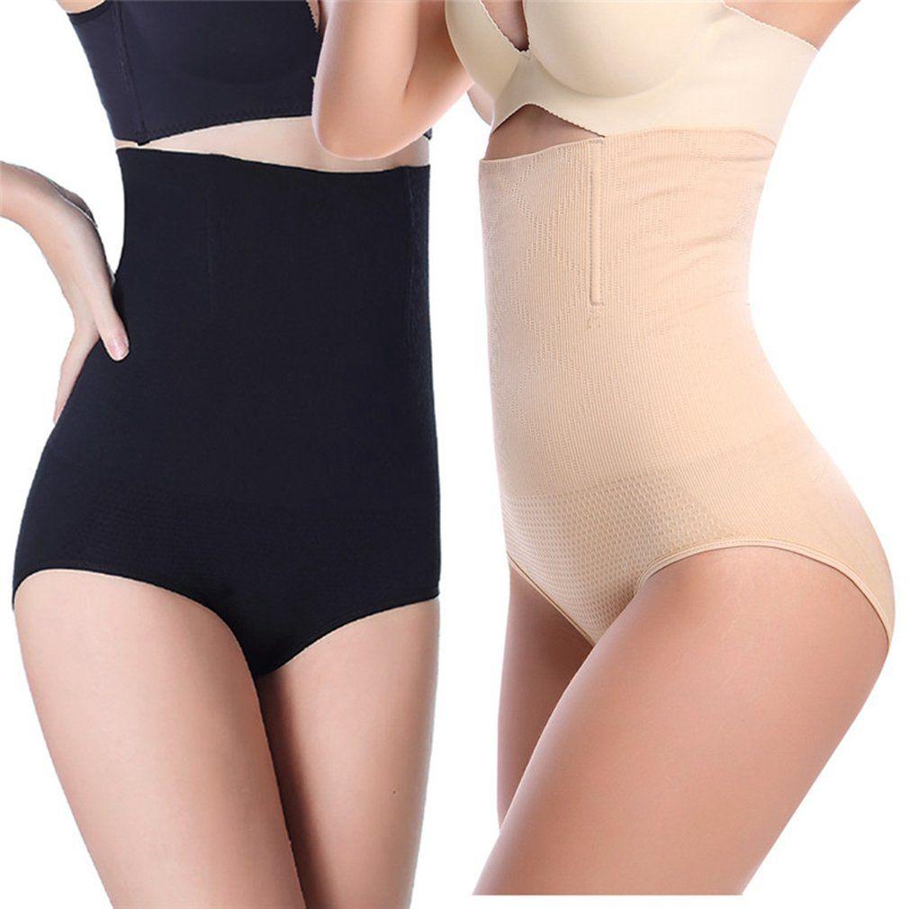 8051a6f731f0 AOBRITON Butt Lifter Seamless High Waist Slimming Tummy Control Panties  Panty Shapewear Underwear Body Shaper Pants