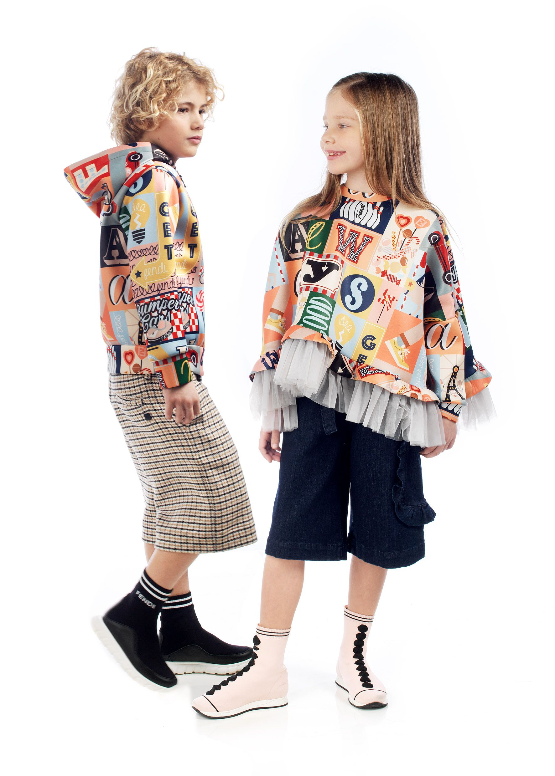 Fendi Kids Fall Winter 2018 19 Collection Now In Selected