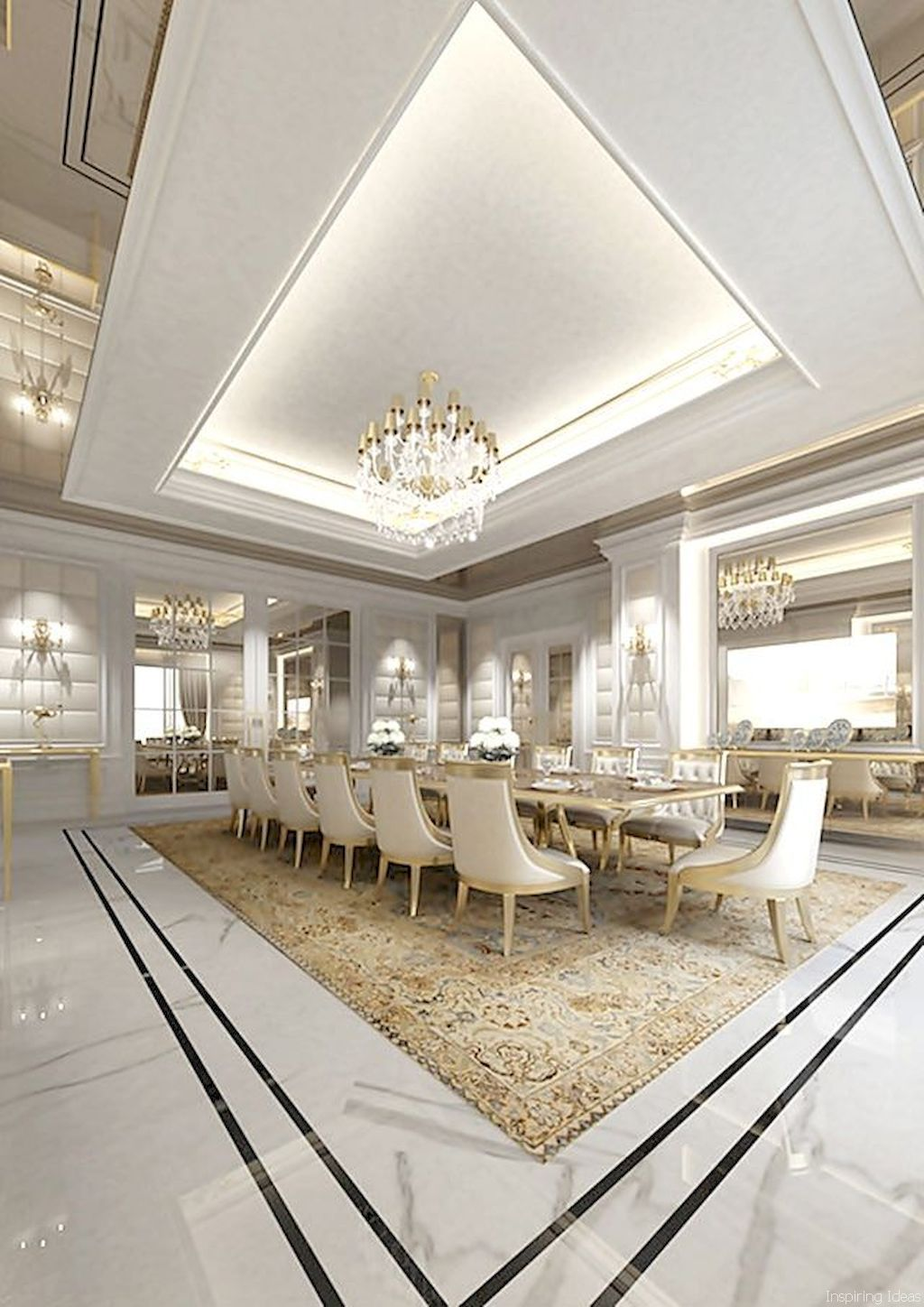 Gorgeous 68 Modern Dining Room Decor Ideas Roomaholic 5422