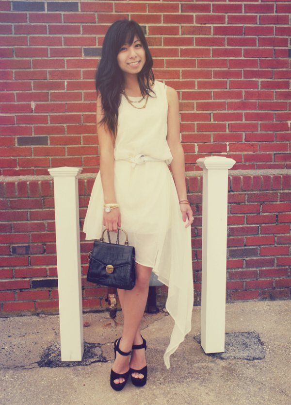 Fashion click blogger Melanie P