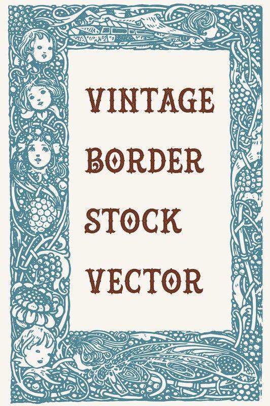 Vintage Royalty Free Images - Ornate Border