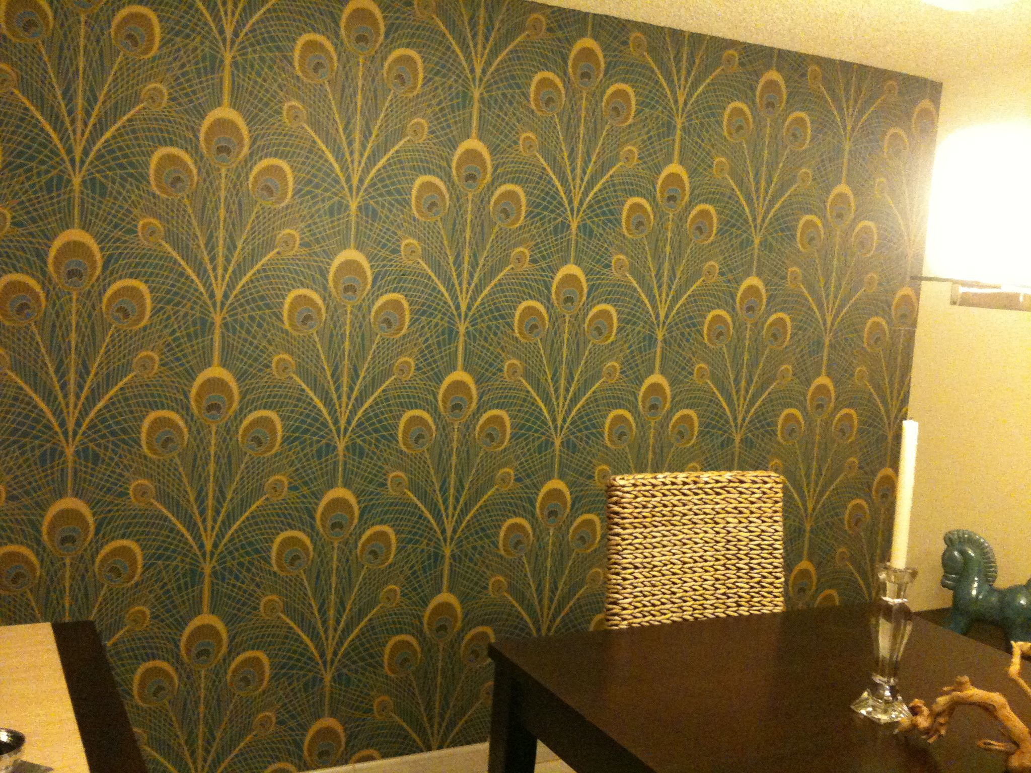 Before After Covering Wall To Wall Mirrors Zania Mirror Wall Cool Walls Temporary Wall Covering
