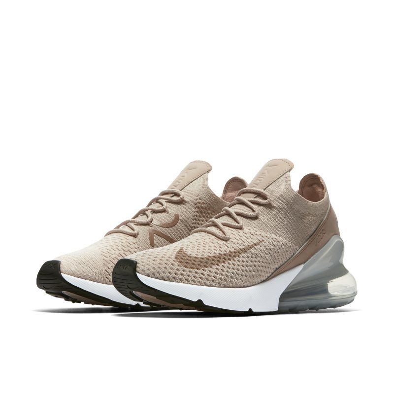 Nike Air Max 270 Flyknit Women's Shoe Cream | Products in