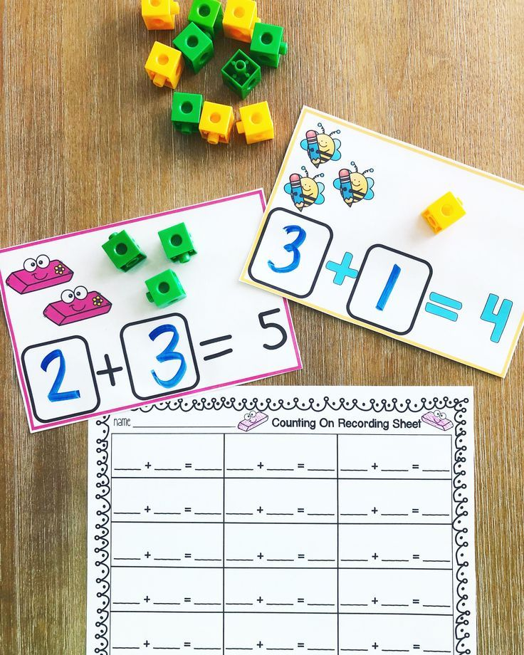 Counting On - Addition - K-1st Grade Classroom Resources -