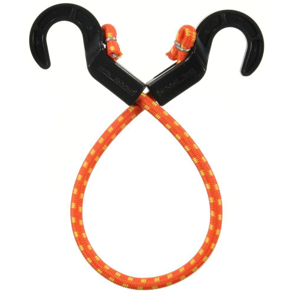 20 in. ZipCord Bungee Cord, Orange And Yellow