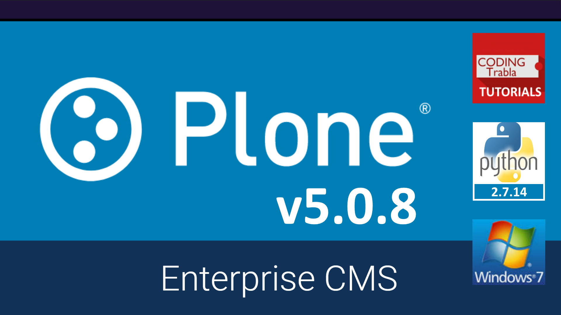 Install Plone 5 0 8 On Windows Localhost Opensource Python Cms Content Management System Windows Cms